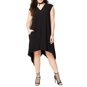 Rachel Roy Plus Sydney High Low Shift Dress